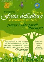 Festa dell'albero 2014, venerdì 28 novembre in piazza Baden Powell a Maruggio