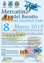 Mercatino del Baratto dei Giocattoli Usati, domenica 8 marzo 2015 a Maruggio (TA)