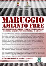 """Nasce il progetto a cura del Comune di Maruggio """"MARUGGIO AMIANTO FREE"""" contributi comunali per la rimozione di materiali in amianto"""