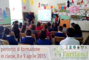 """Entusiasmante inizio del progetto di Educazione Ambientale-Esperienziale: """"Tartland"""", presso l'Istituto Comprensivo """"T. Del Bene"""" di Maruggio (TA)"""