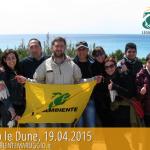 """Continua il progetto """"VIVEREleDUNE"""" con la seconda attività volontaria svolta di pulizia delle Dune di Campomarino"""