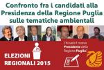 Legambiente Puglia: Confronto fra i candidati alla Presidenza della Regione Puglia sulle tematiche ambientali