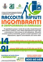 Raccolta straordinaria dei rifiuti ingombranti a Campomarino di Maruggio (Ta) in collaborazione con LEGAMBIENTE MARUGGIO