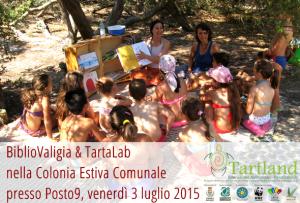 Si è svolto il primo appuntamento estivo del progetto di educazione ambientale TARTLAND presso lo stabilimento balneare Posto9, insieme ai ragazzi della Colonia Estiva Comunale di Maruggio (Ta)