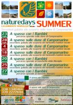 """Per tutta l'estate a Campomarino di Maruggio (Ta) e dintorni, arrivano i """"naturedays SUMMER"""" escursioni naturalistiche esperienziali guidate per adulti e bambini!"""