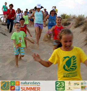"""Ed è subito un successo per i """"naturedays SUMMER"""" escursioni naturalistiche esperienziali guidate per adulti e bambini a Campomarino di Maruggio (Ta)"""