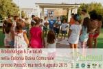 Secondo appuntamento estivo del progetto di educazione ambientale TARTLAND presso lo stabilimento balneare Posto9, insieme ai ragazzi per la festa di fine ciclo della Colonia Estiva Comunale di Maruggio (Ta)