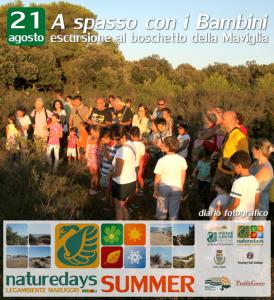 """Record di presenze ieri – 21 agosto – ai """"naturedays SUMMER"""" escursioni naturalistiche esperienziali guidate per adulti e bambini a Campomarino di Maruggio (Ta)"""
