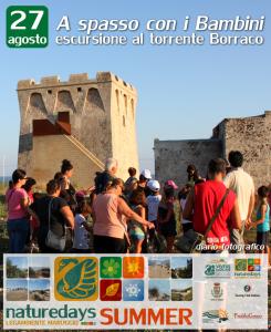 """Si conclude con successo il primo ciclo dei """"naturedays SUMMER"""" escursioni naturalistiche esperienziali guidate per adulti e bambini a Campomarino di Maruggio (Ta) e dintorni!"""