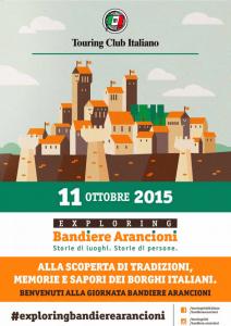 11 Ottobre 2015, una domenica di festa in Puglia con la GIORNATA DELLE BANDIERE ARANCIONI del Touring Club Italiano.