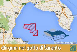 Approvato airgun nel golfo di Taranto fra Basilicata e Calabria. Concessi circa 740kmq di mare alla Shell