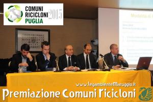 VIII Edizione di Comuni Ricicloni Puglia 2015 il Rapporto regionale di Legambiente che fotografa lo stato della raccolta differenziata