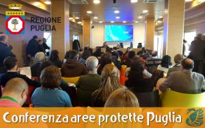 Svolta il 13 gennaio 2016 la conferenza regionale aree protette della Regione Puglia