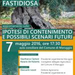 Sabato 7 maggio a Maruggio (Ta) conferenza informativa sul tema: XYLELLA FASTIDIOSA, aggiornamento sulle ipotesi di contenimento e possibili scenari futuri.