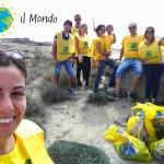 """Anche le dune di Campomarino di Maruggio protagoniste dell'iniziativa nazionale """"Puliamo il Mondo"""" a cura dei volontari della Legambiente"""