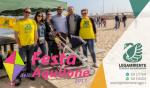 """Tanti bambini alla prima edizione della """"Festa dell'Aquilone"""", svoltasi domenica 7 maggio in spiaggia a Campomarino di Maruggio a cura dei ragazzi del locale circolo della Legambiente"""
