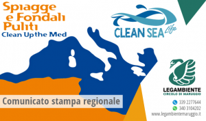 Dal 26 al 28 maggio in tutta Italia e nel Mediterraneo Spiagge e Fondali Puliti – Clean up the Med di Legambiente
