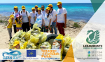 """Foto-Racconto dell'iniziativa svolta a Campomarino di Maruggio: """"CLEAN SEA Life"""" campagna di sensibilizzazione europea sui rifiuti marini; domenica 28 maggio 2017 a cura dei volontari della LEGAMBIENTE di Maruggio"""