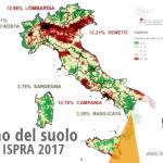 """Consumo del suolo, il rapporto Ispra 2017: """"In Italia in 6 mesi cementificati 5.000 ettari, vi è un rallentamento ma solo grazie alla crisi. Ed è doppio rispetto alla media europea"""""""