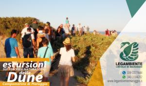 Foto-Racconto della TERZA escursione esperienziale sui percorsi naturalistici delle dune di Campomarino, tutti i martedì di agosto 2017 a cura dei volontari della Legambiente di Maruggio (Ta)
