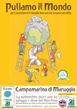 """Imperdibile anche quest'anno """"Puliamo il Mondo"""" sulle dune di Campomarino di Maruggio (Ta), domenica 24 settembre 2017 a partire dalle ore 10 attività di pulizia volontaria in località """"Spiaggia e dune del Marchese"""""""