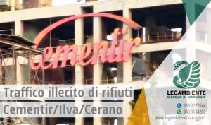 Legambiente Taranto: Cementir, ancora reati ambientali a Taranto, chiediamo indagini rapide. Ci costituiremo parte civile nell'eventuale processo