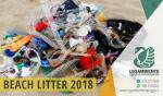 """BEACH LITTER 2018 fase 2 di 4 spiaggia """"Monaco/Mirante"""" – Seconda indagine e monitoraggio sui rifiuti spiaggiati a Campomarino di Maruggio, a cura dei volontari della Legambiente e del Servizio Civile del Comune di Maruggio"""