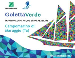 Goletta Verde 2018 presenta i risultati del monitoraggio in Puglia, entro i limiti di legge la qualità delle acque di balneazione a Campomarino di Maruggio (Ta)