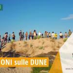 Foto-Racconto della PRIMA escursione esperienziale sui percorsi naturalistici delle dune di Campomarino, tutti i martedì di agosto 2018 a cura dei volontari della Legambiente di Maruggio (Ta)