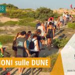 Foto-Racconto della SECONDA escursione esperienziale sui percorsi naturalistici delle dune di Campomarino, tutti i martedì di agosto 2018 a cura dei volontari della Legambiente di Maruggio (Ta)
