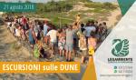 Foto-Racconto della TERZA escursione esperienziale sui percorsi naturalistici delle dune di Campomarino, tutti i martedì di agosto 2018 a cura dei volontari della Legambiente di Maruggio (Ta)