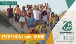 Foto-Racconto della QUARTA escursione esperienziale sui percorsi naturalistici delle dune di Campomarino, tutti i martedì di agosto 2018 a cura dei volontari della Legambiente di Maruggio (Ta)