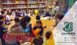 """Tantissimi bambini al laboratorio di ORIGAMI presso la Biblioteca Comunale, nell'ambito del progetto """"i pomeriggi BIBLIO AMBIENTE"""" incontri didattici gratuiti per bambini, a cura degli educatori della Legambiente e Servizio Civile del Comune di Maruggio"""
