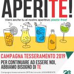 APERITE 2018 – Il 1 dicembre in tutta Italia tantissimi aperitivi plastic-free per conoscere i volontari e le iniziative di Legambiente, anche a Maruggio presso il One Piece Bar