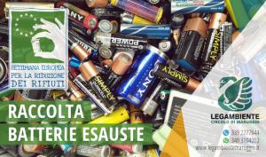 """Continua la raccolta di batterie esauste per """"La Settimana Europea per la Riduzione dei Rifiuti (SERR)"""" che coinvolge l'Istituto Comprensivo di Maruggio"""