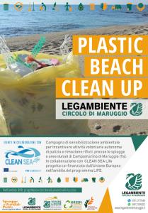 PLASTIC BEACH CLEAN UP – Campagna di sensibilizzazione ambientale per incentivare attività volontarie autonome di pulizia e rimozione rifiuti, presso le spiagge e aree dunali di Campomarino di Maruggio (Ta)