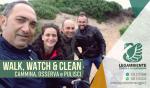 """Si è svolta domenica 7 aprile 2019 una passeggiata pomeridiana per l'iniziativa nazionale: """"WALK, WATCH & CLEAN – cammina, osserva e pulisci"""" a Campomarino di Maruggio (Ta)"""
