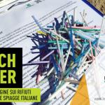 Si è svolto il BEACH LITTER 2019 venerdì 12 aprile in contemporanea nazionale, la terza indagine e monitoraggio sui rifiuti spiaggiati a Campomarino, a cura dei volontari della Legambiente e Misericordia di Maruggio