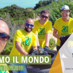 """Si è svolto anche quest'anno """"Puliamo il Mondo"""" a Campomarino di Maruggio (Ta), quarta edizione locale domenica 22 settembre 2019 attività di pulizia volontaria presso l'area dunale in località Mirante"""