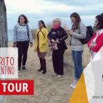 """Il Press Tour """"Fra Natura, Arte e Fede sul Cammino dei Pellegrini"""" a cura della Cooperativa """"Spirito Salentino"""" fa tappa sulle dune di Campomarino grazie alla collaborazione con l'APS Legambiente Maruggio"""
