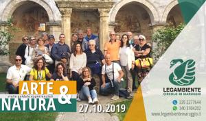 """Continua con grande partecipazione il progetto """"ARTE & NATURA"""" visite guidate esperienziali nel borgo antico di Maruggio e lungo la costa di Campomarino, a cura dell'APS LEGAMBIENTE Maruggio"""