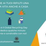 18 marzo #iorestoacasa: la Giornata mondiale del riciclo al tempo del Coronavirus Legambiente presenta il progetto ECCO (Economie Circolari di Comunità) per fare delle piccole azioni green e tutelare l'ambiente anche nel difficile periodo che stiamo vivendo.