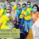 """Si è svolto anche quest'anno """"Puliamo il Mondo"""" a Campomarino di Maruggio (Ta), quinta edizione locale domenica 27 settembre 2020 attività di pulizia volontaria presso l'area dunale del percorso naturalistico."""