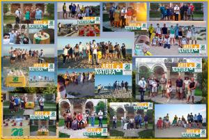 """Si chiude con 206 presenze l'iniziativa stagionale """"ARTE & NATURA"""" visite guidate esperienziali da giugno a settembre, nel borgo antico di Maruggio e lungo la costa di Campomarino, a cura dell'APS LEGAMBIENTE Maruggio"""