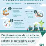 #VASICOMUNICANTI – Il 21 novembre è la Festa dell'Albero! Partecipa anche tu: pianta il tuo seme, un piccolo albero, fai un gesto per celebrare la natura!