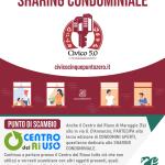 Il Centro del Riuso di Maruggio partecipa alla terza giornata di CONDOMINI APERTI, quest'anno dedicata allo SHARING CONDOMINIALE a cura di Civico 5.0 di Legambiente