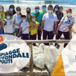 """Si è svolta l'iniziativa nazionale """"Spiagge e Fondali Puliti"""" a Campomarino di Maruggio (Ta) campagna di volontariato ambientale a cura dell'APS Legambiente di Maruggio"""