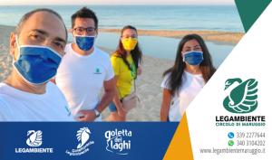 Goletta Verde 2021 di Legambiente presenta i risultati del monitoraggio in Puglia, entro i limiti di legge la qualità delle acque di balneazione a Campomarino di Maruggio (Ta)